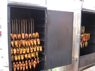 Fische räuchern  - 2 - Fische, Aal, Aale, Lachs, Räucherofen, räuchern, haltbar, konservieren