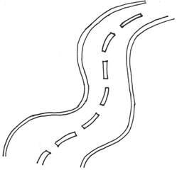 Straße - Straße, Anlaut St, Verkehr, Fahrbahn, Mittelstreifen, Wörter mit ß, Anlaut S