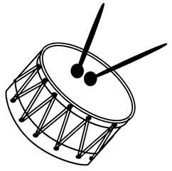 Trommel - Trommel, Anlaut T, Wörter mit mm, Instrument