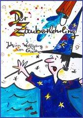 Der Zauberlehrling - Zauberlehrling, Cover, Filzstifte/Buntstifte, Kunst, Deutsch