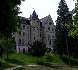 Schloss Cumberland - Cumberland, Welfen, Königreich Hannover, Schloss, Historismus, neugotisch, Baudenkmal
