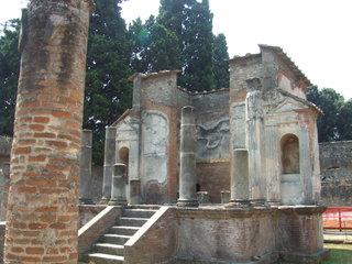 Pompeij - Pompeij, Rom, Römer, Vulkan, Vesuv, Ausbruch, Ruinen, Italien, Neapel, Tempel, Götter, Heiligtum