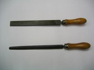Feilen - Feilen, Werkzeug, Flachfeile, Dreikantfeile, Metallarbeiten, Maschinenbau, Werkzeugbau, Modellbau, Feile