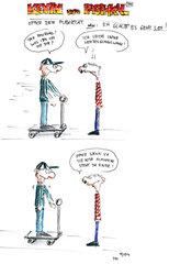 Cartoon Kevin und Paschkal - Es geht los! - Cartoon, Kevin, Paschkal, Pubertät, Jungen