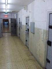 Gang Hohenschönhausen - Gefängnis, Stasi, DDR, Gang, Gitter, Haft