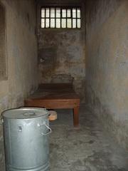 Zelle Hohenschönhausen - Stasi, Gefängnis, Hohenschönhausen, DDR, Berlin, Gefängniszelle, Haft, gefangen, karg, hart, einsperren