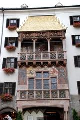 Innsbruck - Goldenes Dachl - Innsbruck, Goldenes Dachl, Goldenes Dach, Sehenswürdigkeiten, Österreich