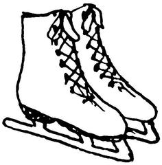 Schlittschuhe - Winter, Eis, kalt, Schlittschuh, Anlaut Sch, Wörter mit Doppelkonsonanten