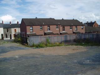 Nordirland - Belfast - protestantischer Bezirk - Nordirlandkonflikt Shankhill Road, protestantischer Bezirk