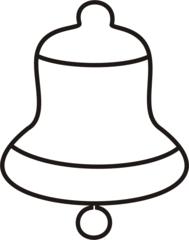 Glocke-1 - Glocke, Glöckchen, Weihnachten, läuten, klingeln, Anlaut G, Illustration, Wörter mit ck