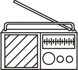 Radio - Radio, hören, Musik, Sender, Sendung, Anlaut R, Physik, Wellen