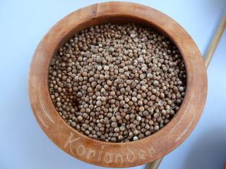 Curry herstellen#9 - Koriander - Koriander, Gewürz, Curry, Brotgewürz, Curry-Herstellung