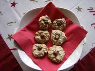 Haselnussmakronen - Gebäck, Plätzchen, Weihnachtsplätzchen, Makronen, Haselnussmakronen, Eiweißgebäck, Eiweiß, Zucker, Haselnüsse