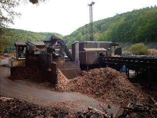 Sägewerk - Holz, Wald, Sägerei, Arbeit, Produktion, Sägewerk, Holzverarbeitung, entrinden