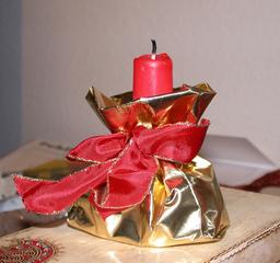 Kerzen*halter* - Kerze, Kerzenhalter, Licht, Advent, basteln