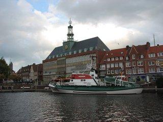Rettungsboot - Rettungsboot, huckepack, DGzRS, Emden, Delft, Rathaus, Seenot, Rettung, schiffbrüchig