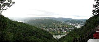 Rhein bei Boppard - Vierseenblick - Rhein, Mäander, Vierseenblick, rheinisches Mittelgebirge, Mittelrhein