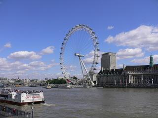 The London Eye - London Eye, London, sights, Sehenswürdigkeiten