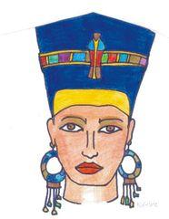 Nofretete - Ägypten, Hochkulturen, Pharao, Nofretete, Königin, Schönheitsideal