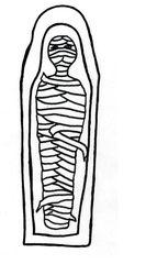 Mumie - Ägypten, Grab, Pharao, Hochkulturen, Götter, Gottheiten, Glaube, Mumie, Pyramide, Pyramiden, Religion, Anlaut M