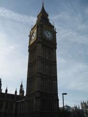 London - Big Ben - London, Big Ben, Uhrenturm, Glockenturm, Turm, Sehenswürdigkeit