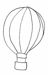 Heißluftballon - Heißluftballon, fahren, schweben, Ballon, Korb, Gas, Auftrieb, Birnenform