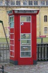 Fernsprecher - Fernsprechhäuschen, Telefon, DDR, Telefonzelle, Telefonhäuschen, telefonieren, Geschichte