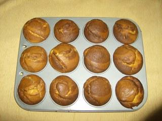 Muffins #4 - Muffins, gebacken, Backform, Rührmasse, Teig, Gebäck, Kleingebäck