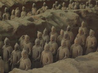 China - Xi'an Terrakotta-Armee - China, Geografie, Geschichte, Grabanlage, Terrakotta, Sehenswürdigkeiten