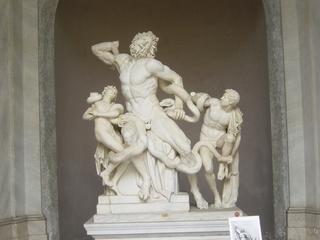 Laokoongruppe - Laokoon, Laokoon-Gruppe, Klassik, Skulptur, Statue, Marmor, Dynamik, Troja, Lessing, Winckelmann, Bildhauerei, Plastik, Mythologie, Schlangen, Kunst