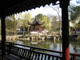 China - Suzhou - China, Suzhou, Gartenanlagen, Steingärten, Sehenswürdigkeit, Ostasien, Teich
