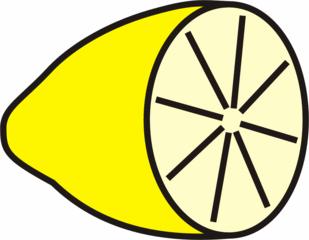 Zitrone - Zitrone, gelb, Obst, Frucht, sauer, Anlaut Z