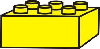 Lego - Lego, Legostein, Legosteine, bauen, spielen, Spielzeug, gelb, Anlaut L
