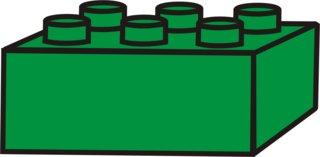 Lego - Lego, Legostein, Legosteine, bauen, spielen, Spielzeug, grün, Anlaut L