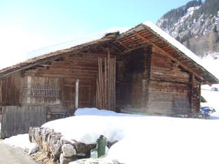 Hütte - Hütte, Frankreich, Alpen, Haus, Stall, Landwirtschaft, Holz, Bretter
