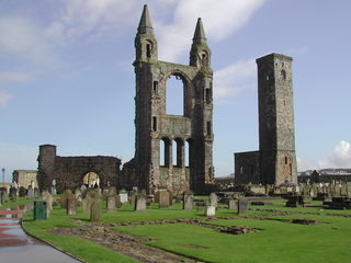 St Andrew's Cathedral - St Andrews, Cathedral, Kathedrale, Schottland, Ruine, gotisch, Kirche