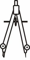 Zirkel eng - Zirkel, Zeichengerät, zeichnen, Mathematik, Radius, Konstruktion, Geometrie, Kreis, Kreise, Schenkel, Anlaut Z