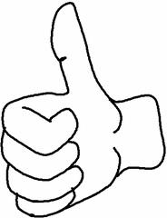 Daumen - Daumen, Hand, Lob, prima, super, toll, Symbol, richtig, gut, Finger