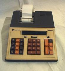 Rechenmaschine 70er Jahre - Rechenmaschine, Elektronik, Gerät