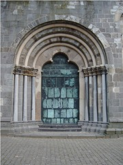 romanisches Portal - Religion, Meditation, Architektur, Portal, Romanik, Tor, Tür, Eingang, Dom, Xanten