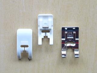 Teflonfuß - Normalfuß - Teflonfuß, Unterseite, Normalfuß, Zubehör, Nähmaschine