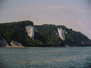 Kreidefelsen - Kreidefelsen, Rügen, Ostsee, Insel, Steilküste, Meer, Wald, Sedimentgestein
