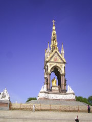 Albert Memorial - London, Albert Memorial, Neugotik, England, Kensington Gardens