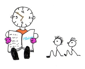 Herr Ticktack - Uhren und Tätigkeit #17 - Uhrzeit, Uhr, vorlesen, lesen, Familie