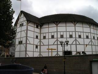 Globe-Theatre - England, Landeskunde, Shakespeare, Globe Theatre, London