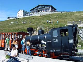 SchafbergBahn - Österreich, Salzkammergut, SchafbergBahn, Schafberg, Dampflok