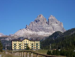Drei Zinnen - Drei Zinnen, Tre Cime di Lavaredo, Dolomiten, Berge, Alpin, Tourismus, Südtirol, Alto Adige, Italien, Bergsteigen