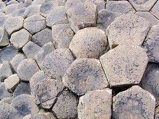 Giant´s Causeway 3 - Irland, Schottland, Küste, Meer, Basalt, Säule, Basaltsäule, Viereck, Fünfeck, Sechseck, Achteck, Stein