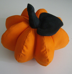 Kürbis genäht - Kürbis, genäht, Dekoration, Herbst, verstürzen, Formen