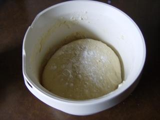 Hefeteig, Zubereitung #4 - Hefeteig, Teig, geknetet